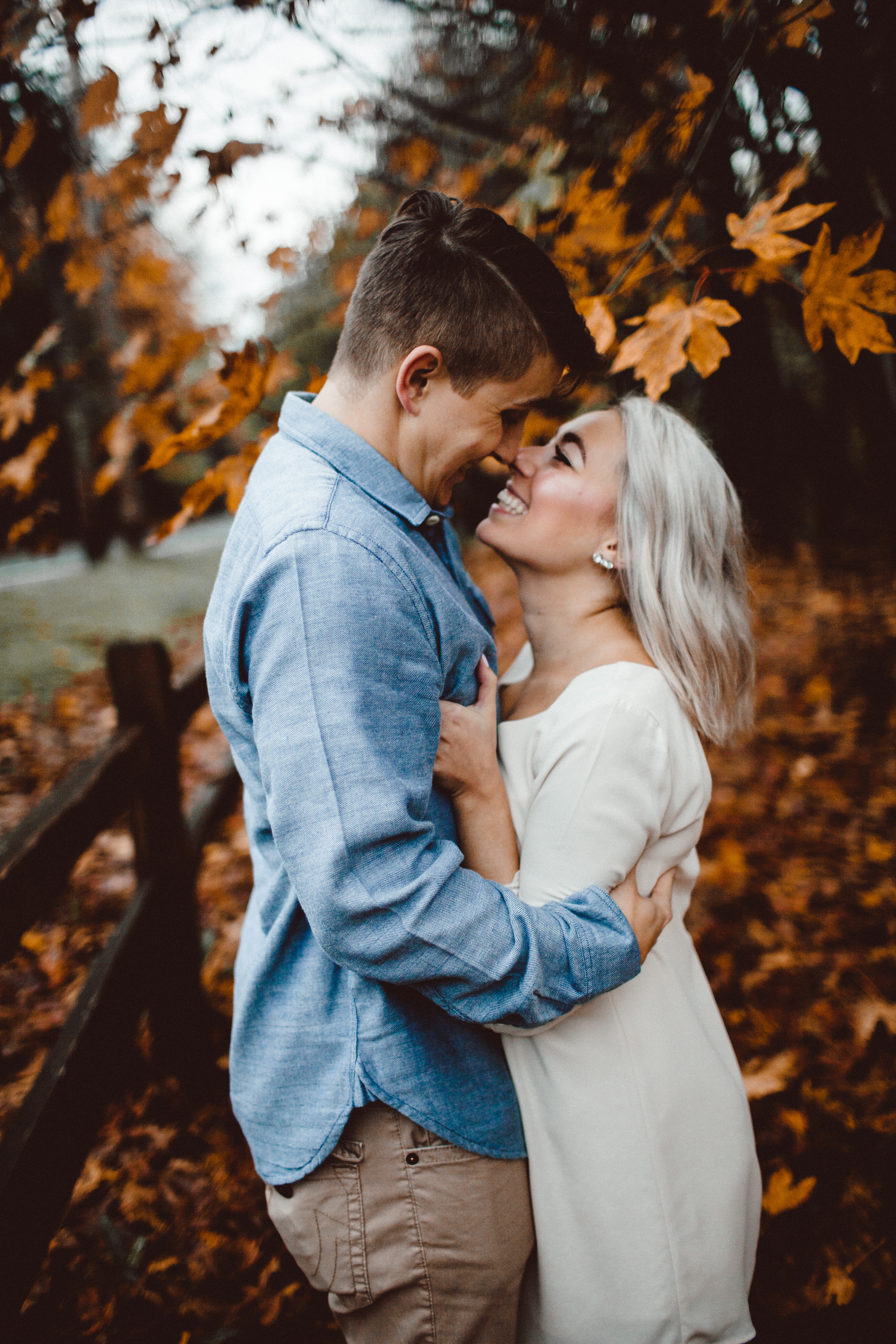 Tacoma Washington Fall Engagement Tacoma Wedding Seattle Wedding Photographer