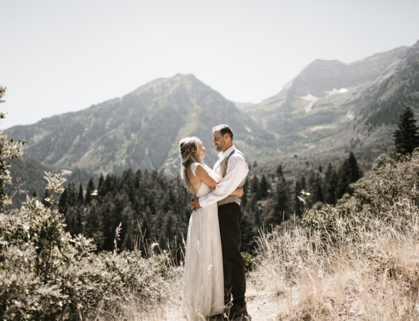 Sundance Mountain Resort Salt Lake City Utah Wedding