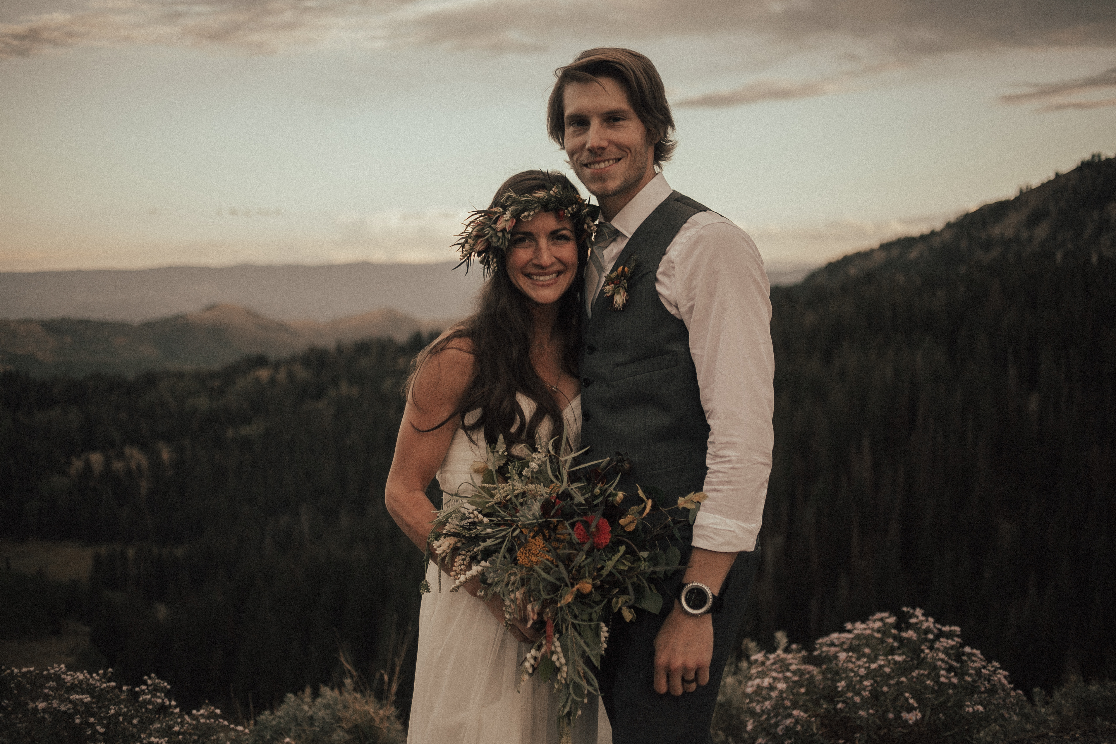 Solitude Mountain Resort Wedding Utah Salt Lake City Green Wedding Shoes Bohemian Bride Moss Flower Shop Tyler Texas Sunset Adventure Elopement Green Wedding Shoes Aspen Forest Ceremony Venue