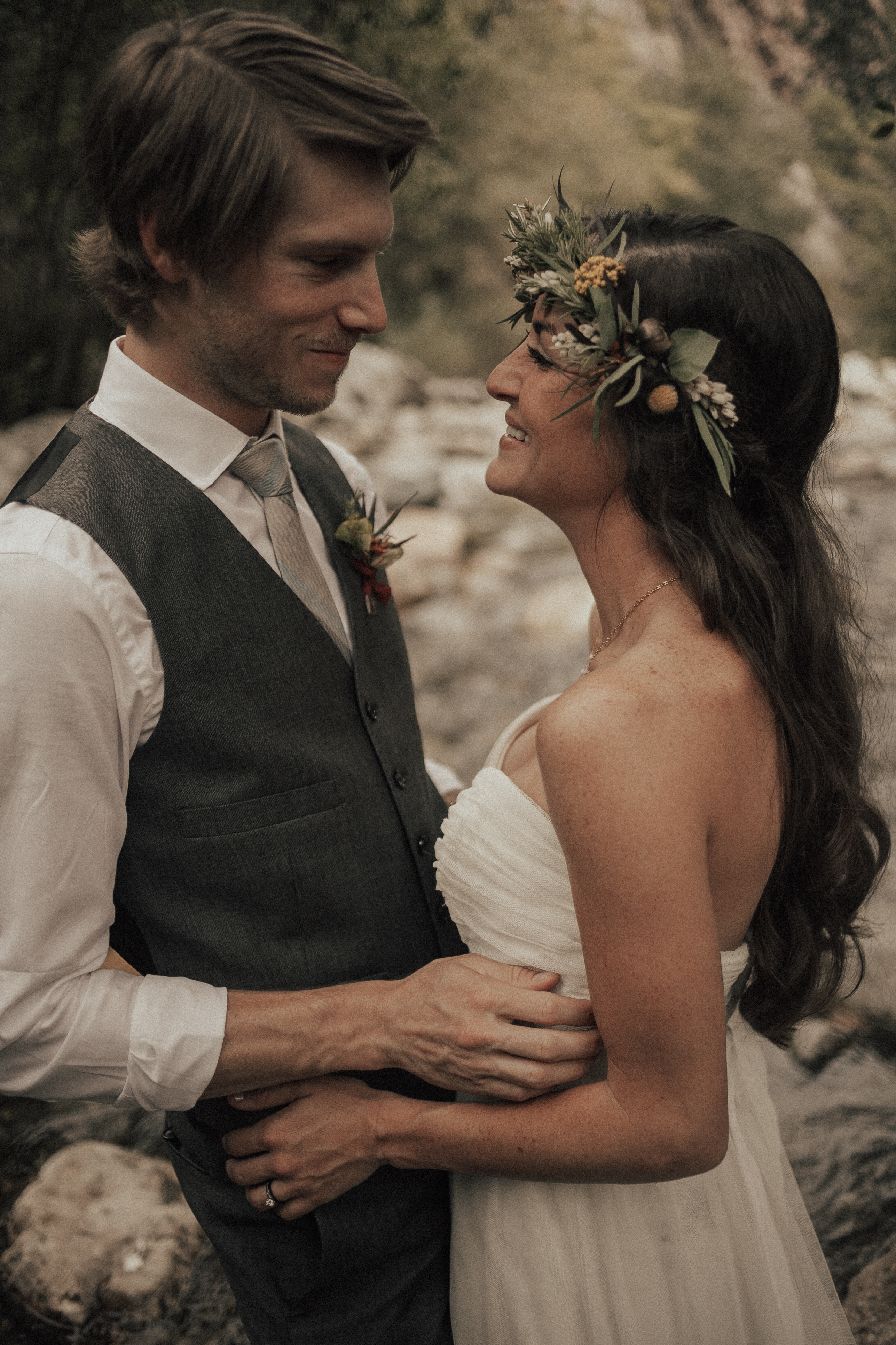 Solitude Mountain Resort Wedding Utah Salt Lake City Green Wedding Shoes Bohemian Bride Moss Flower Shop Tyler Texas Sunset Adventure Elopement Green Wedding Shoes Aspen Forest Ceremony Venue Succulents River
