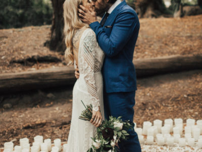 San Francisco California Forest Wedding