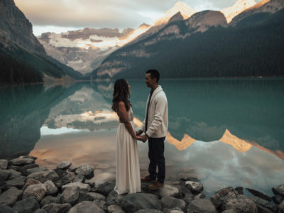 Banff Canada Lake Louise Engagement